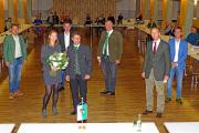 Kulmland-Bürgermeister und Dr. Taus