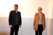 Bürgermeister und Gemeindekassier © Gutmann